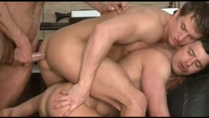sexy homosexual 3some on the daybed Sexy redhead with perfect body naked Jizz free porn