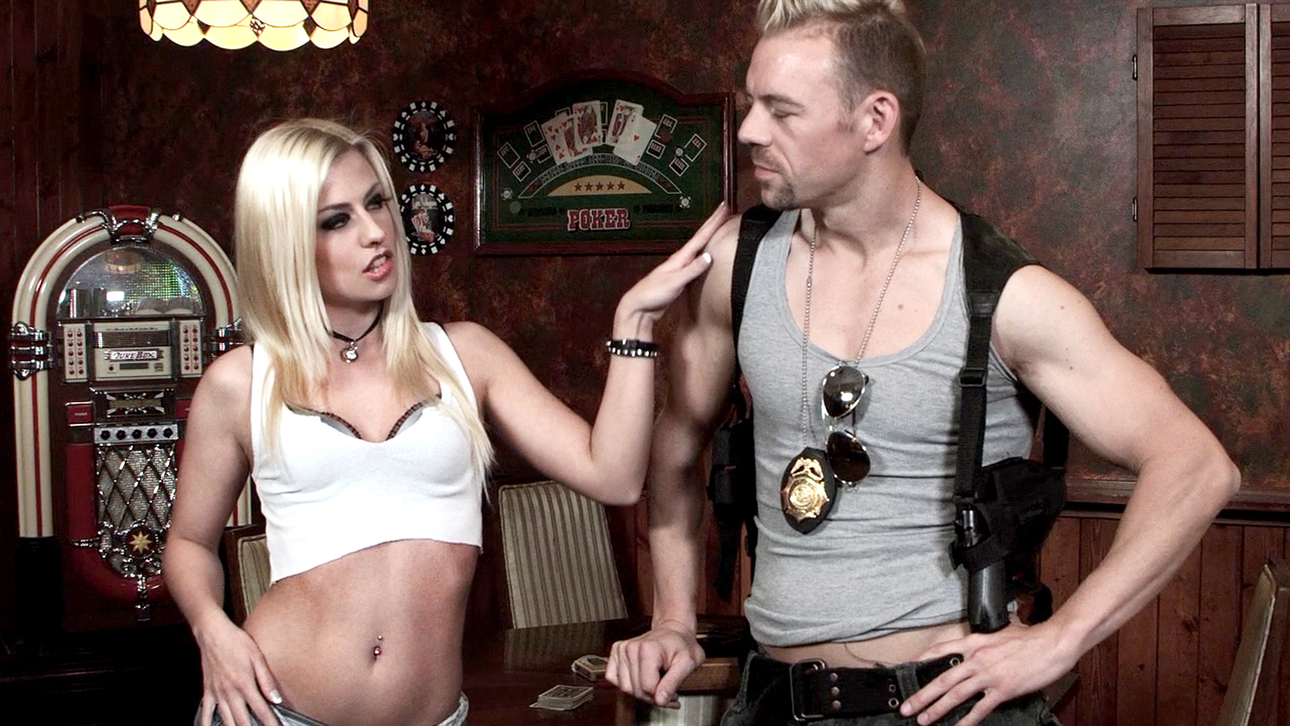 Jessie Volt & Erik Everhard in Skip Trace, Scene 5 Outstanding Lesbian Toys immoral video