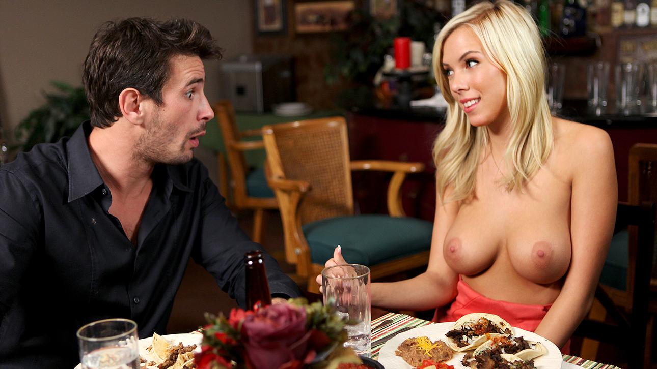 BiBi Jones & Manuel Ferrara in The Pill, Scene 1 Small boobs breasts tits jugs naked