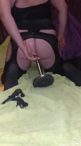 Riding on dildo and cumming fuck a hooters girl