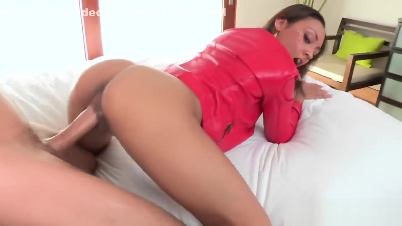 Ebony Chick Cherry Filled By White Cock From Behind