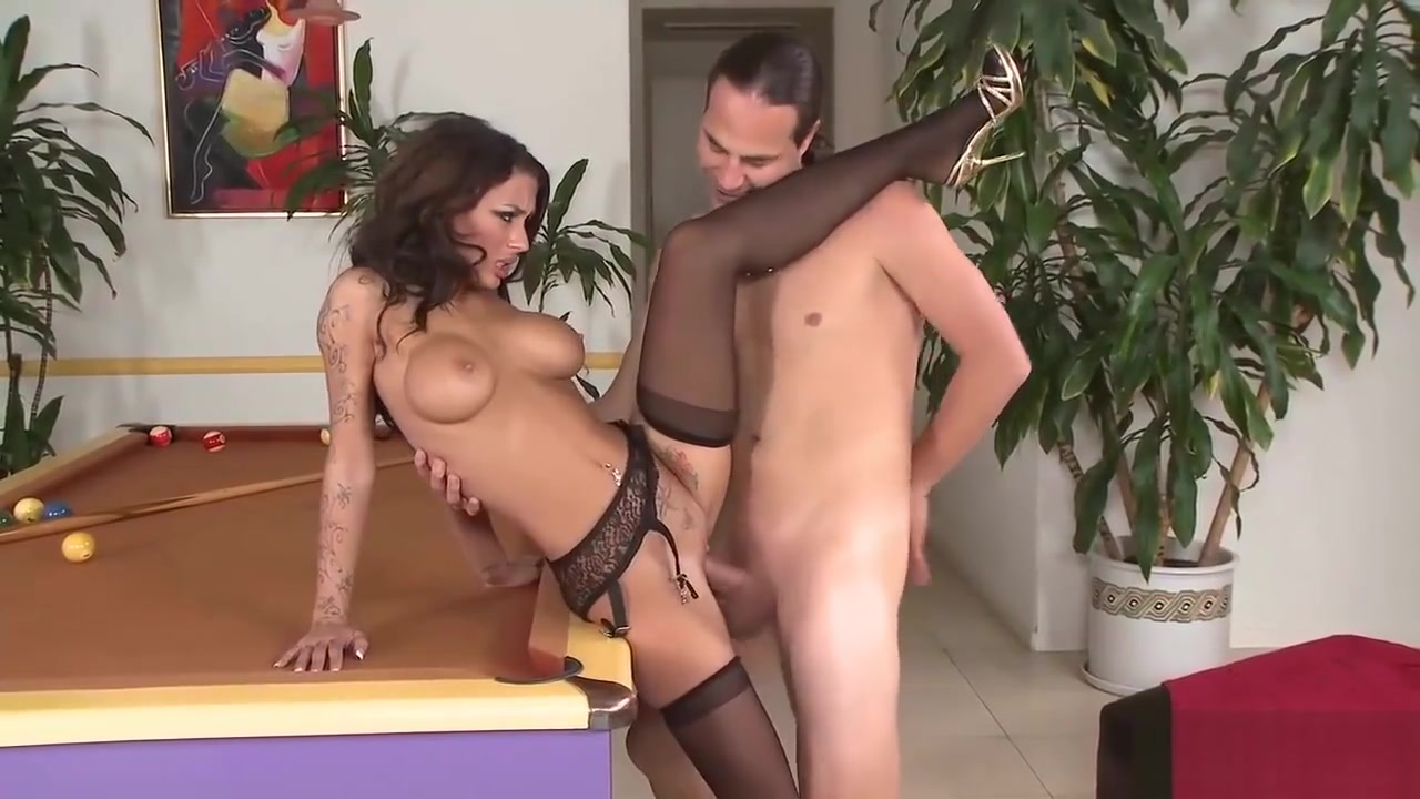Mya Nichole In Stockings Gets Fucked