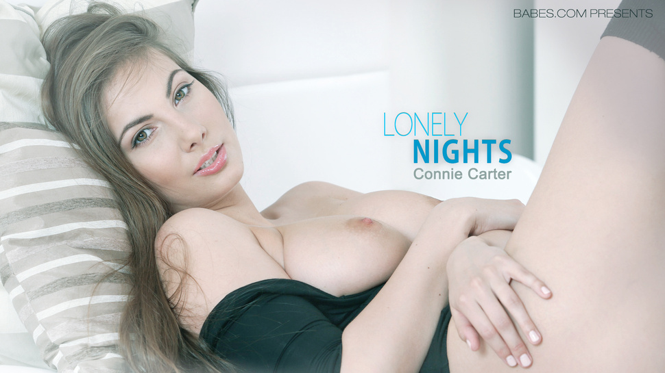 Connie Carter in Lonely Nights Video cum on gfs tits