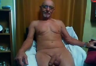 old man loves to show his big dick Bondage forced orgasm vibrator