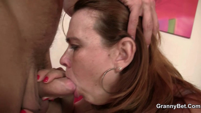 Old slut gives head and rides ding-dong Married escort