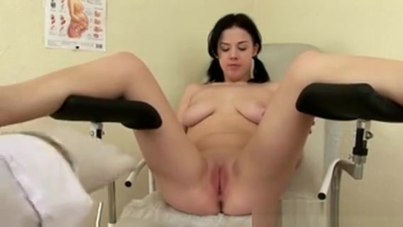 Old Pervert Plays Gynecologist With Teen Watch my gf big tit blonde