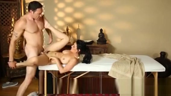 Glamour Babe Charley Chase Twat Pounded By Her Masseur sex in the cinerma