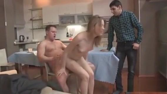 Poor Fella Lets Flirty Buddy To Fuck His Girlfriend For Buck