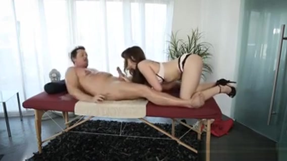 Luscious Brunette Masseuse Alison Rey Drilled By Her Client Escorts in motel village calgary