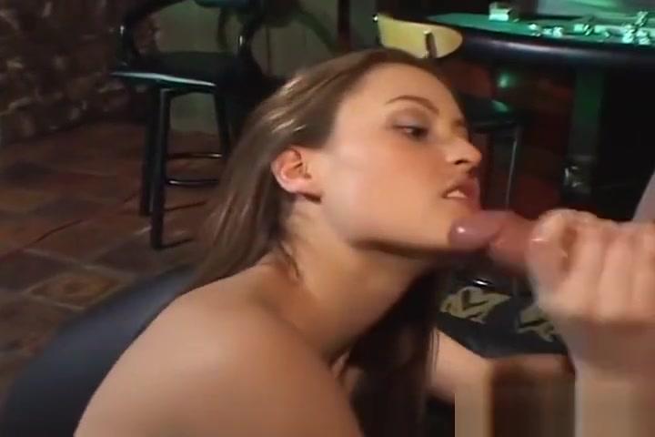 Horny slut jerks off her mans cock