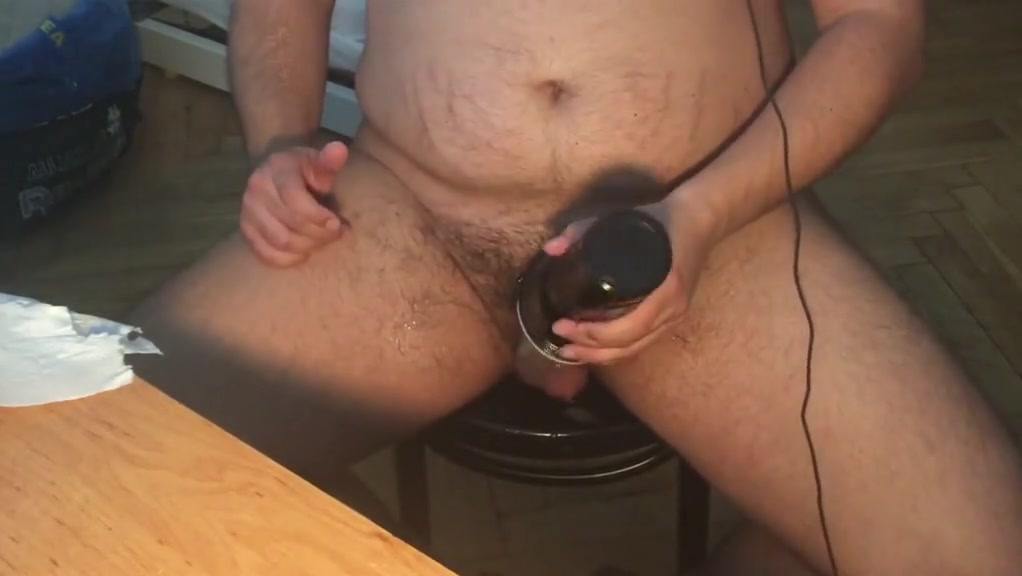 FUCKING FRIENDS FLESHLIGHT- FILLING IT WITH CUM!!! Lesbian Video Hamster