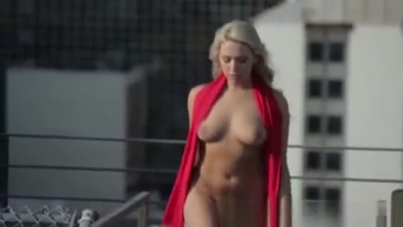 Stunning Nude Blonde Strutting Outdoors Women captured and used as sex slaves by soldiers