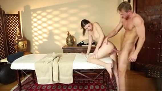 Teen Fucked By Masseur Hot girl she getting fucked hard with big dick