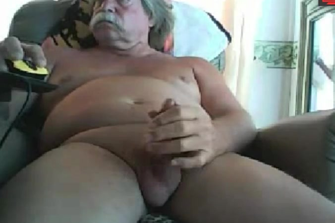 dad with a lush mustache - jerking off Milf girls porn