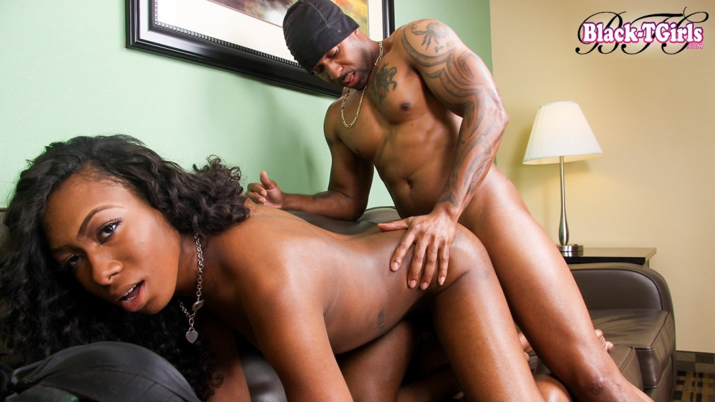 Skys The Limit With Eryn Skyy - BlackTGirlsHardcore Wife wants to go black