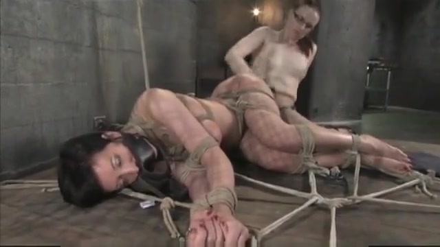 Cherry Torn in extreme suspension bondage My ex wife is dating a black guy