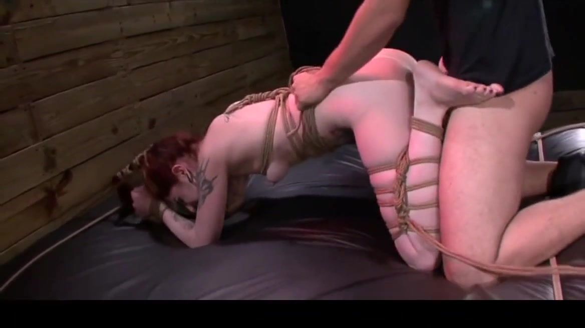 Manhandled Sheena Rose tied and bound then submits to the Master godvia in hardcore sex