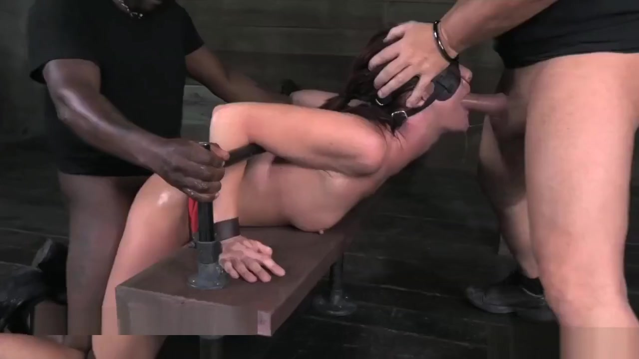 Midwestern Hottie Cassandra Nix Face Fucked in Bondage stripping lapdance nude video