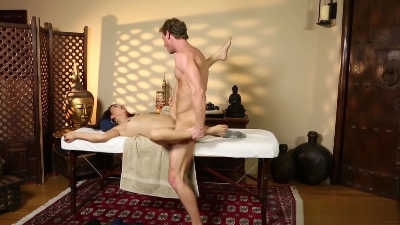 Conned asian massaged cum Doggy Style Standing Up