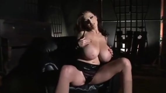 Sexy Black Leather Hot Body Babe Have