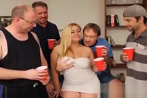 Curvy Latina Hollie Gets Gangbanged And Bukkakeed Milf three sum