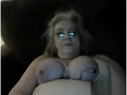 Granny Abusing Her Tits And Nipples Sex hot porn photos