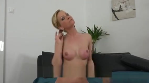 Facialized Casting Babe After Riding Dick