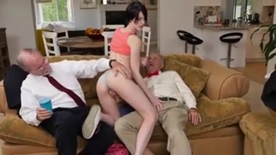 Alex Harper Sucking Off Old Mens Cocks Girls with big boons