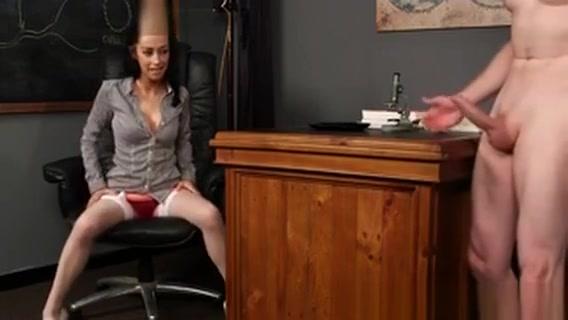Cfnm Teacher Humiliates will anal sex make my butt bigger
