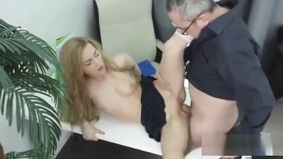 Cute Bookworm Gets Seduced And Drilled By Her Older Teacher