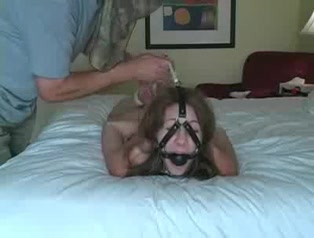 Nude cute tied on bed Latina rampage