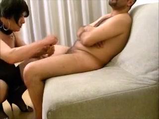 Lara tranny sucking and getting fucked by Arab Milf British Milf