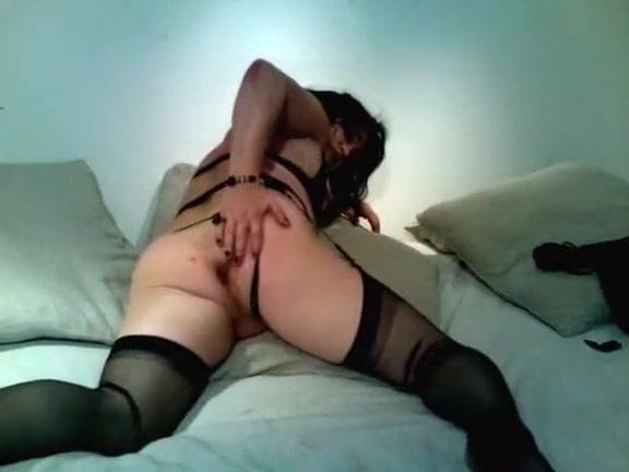 Chubby Amateur Monika Krysler In Black Lingerie Masturbates English teacher fuck for money porn tube