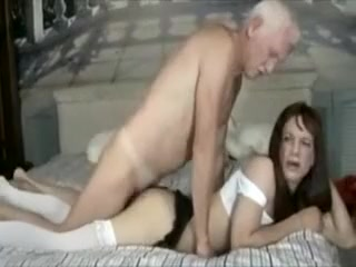Crossdresser banged old man Ebony Ayes. Big Tits adult video