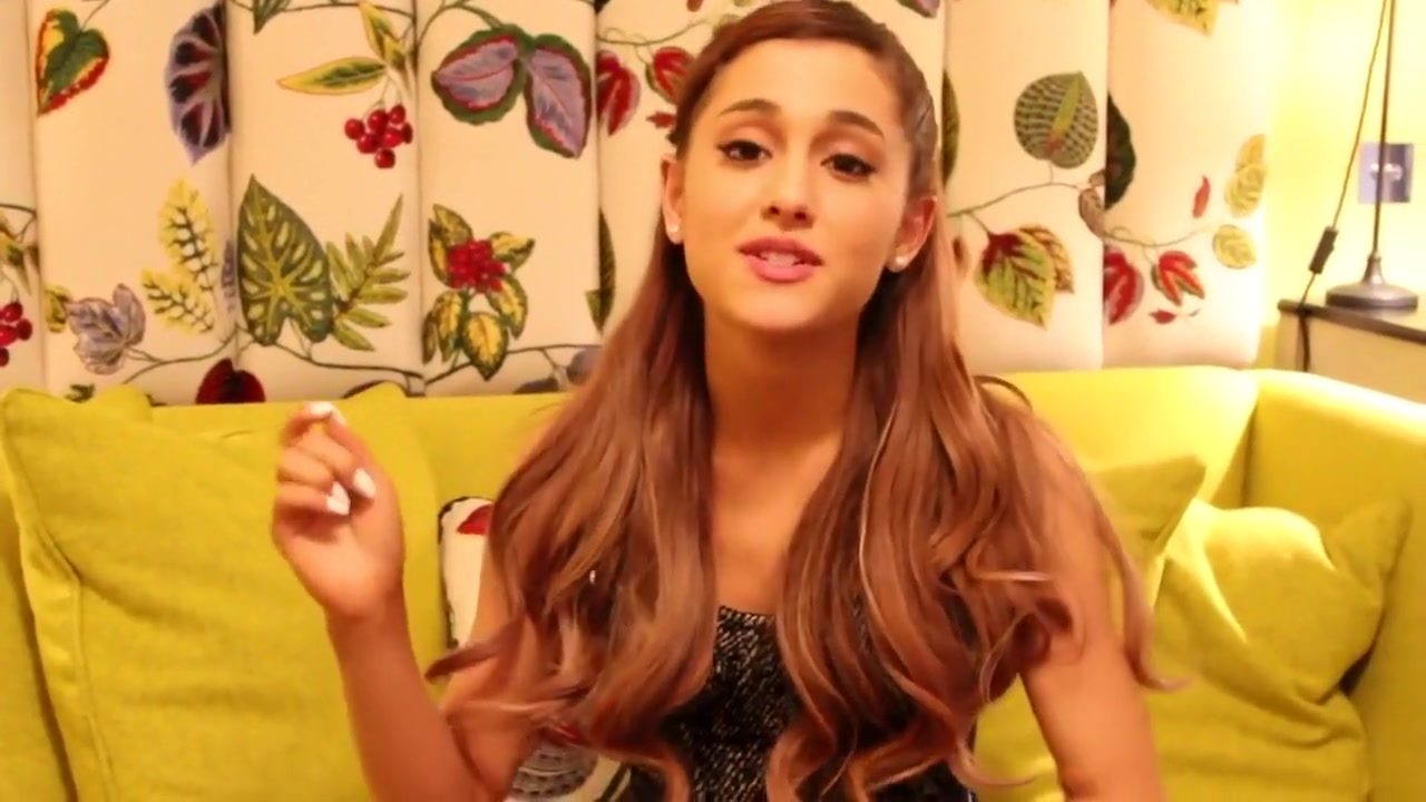 Ariana Grande popping the question balloons Hwk ufs micro sarasoft setup