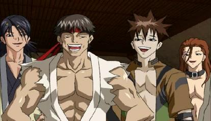 Samurai dream) Homosexual parody)) Group Sex Orgies
