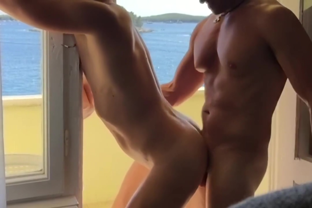Hvar gay sex balcony fuck and cum caught masterbating by big tits