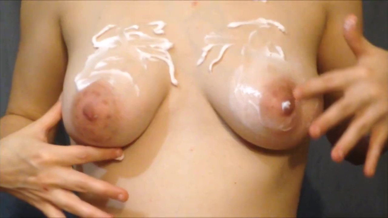 Preggo Tits Covered in Lotion Ass To Mouth Hd