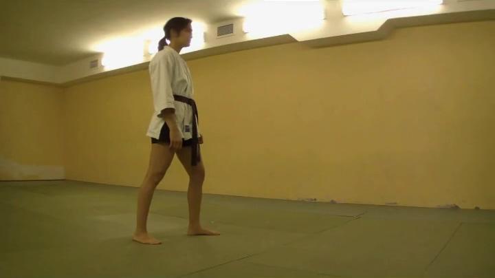 Karate Women masturbate thinking about my mom