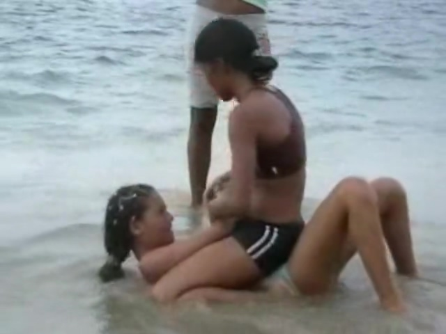 Dominican girls sexy wrestling on beach body to body Doctor to see for an anal fissure