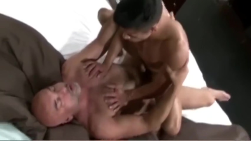 Latino Daddy and His Boy Latina fucked in her huge ass