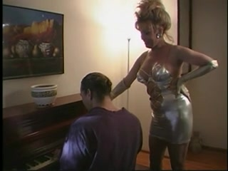 Sexy blonde milf gets deep penetration massage rooms hairy pussy natural tits babe has loud squirting orgasm
