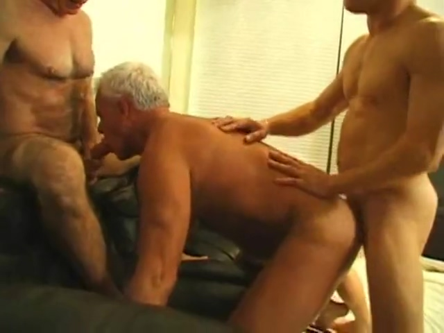 2 hairy Grandpas fucked hard by a younger muscular guy hot nked black girls