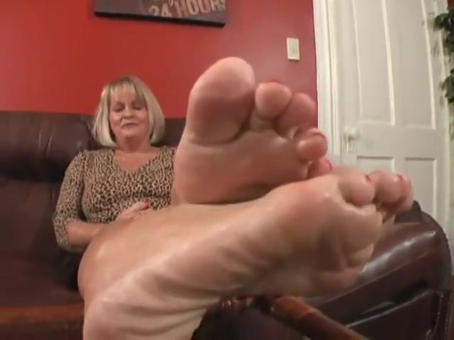 Mature feet Is fingering is sex