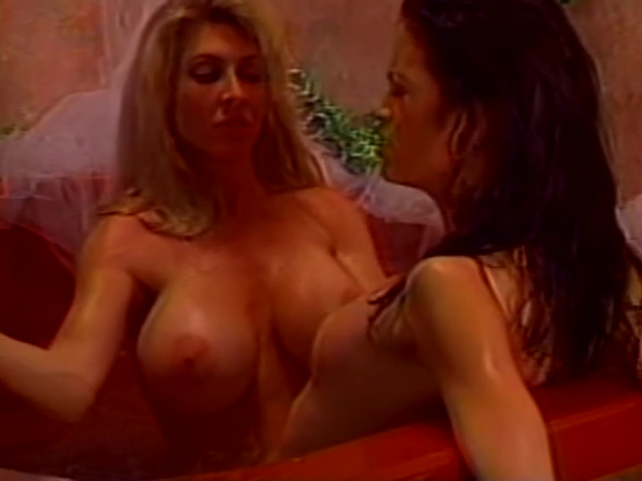 Lovers cat fight in the tub Teen Escort Gets A Huge Creampie
