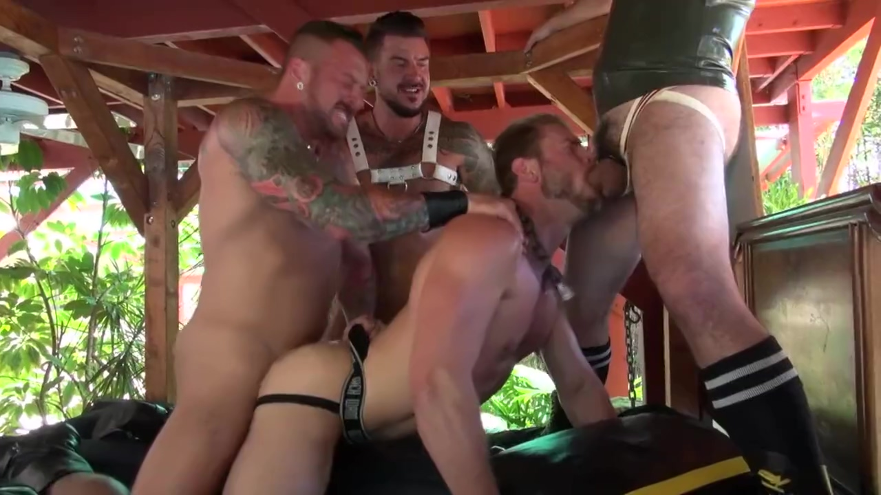 puppy pound Strap-On Toy Slides Into Wet Hairy Pussy