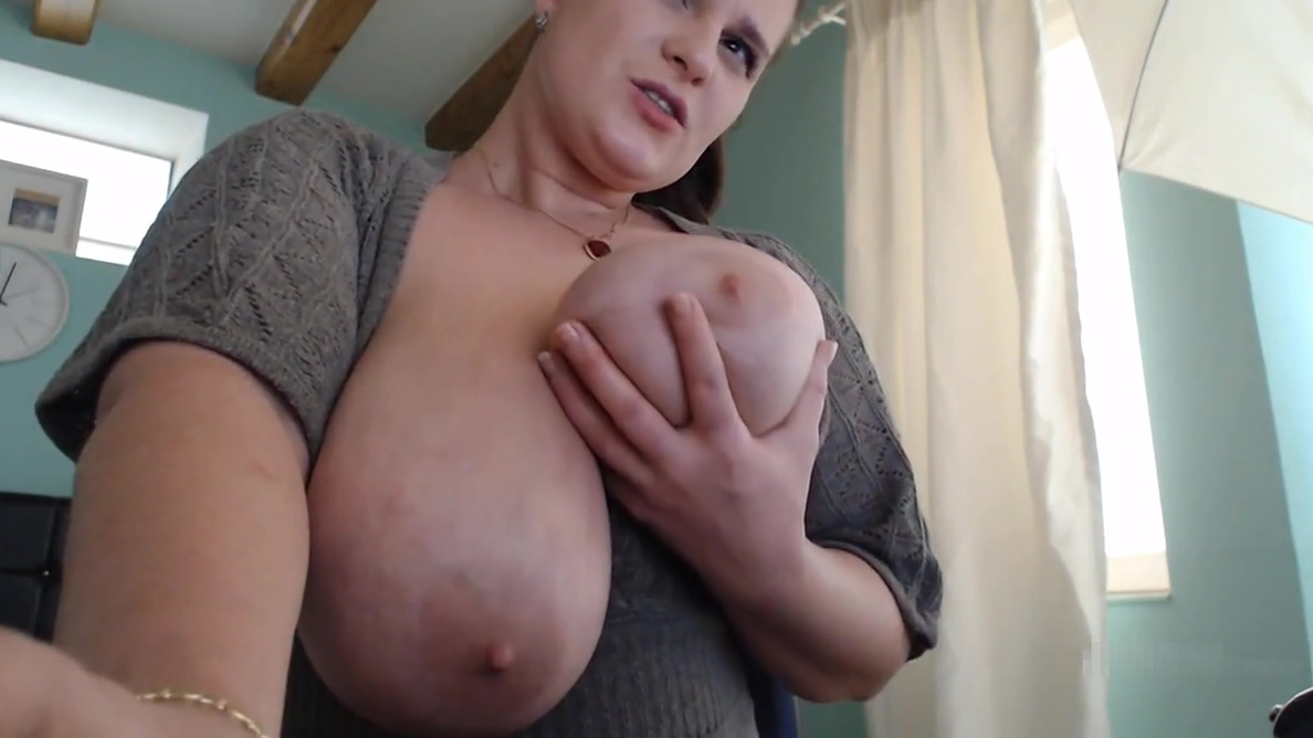 Hot brunette BBW plays with her tits and pussy part3. prinz albert piercing ass fuck