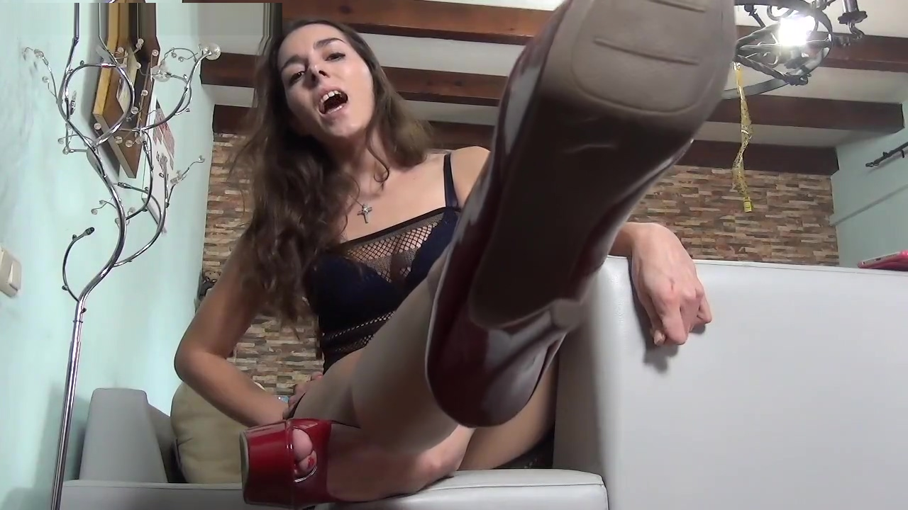 Sexy Red High Heels Need Worshipping