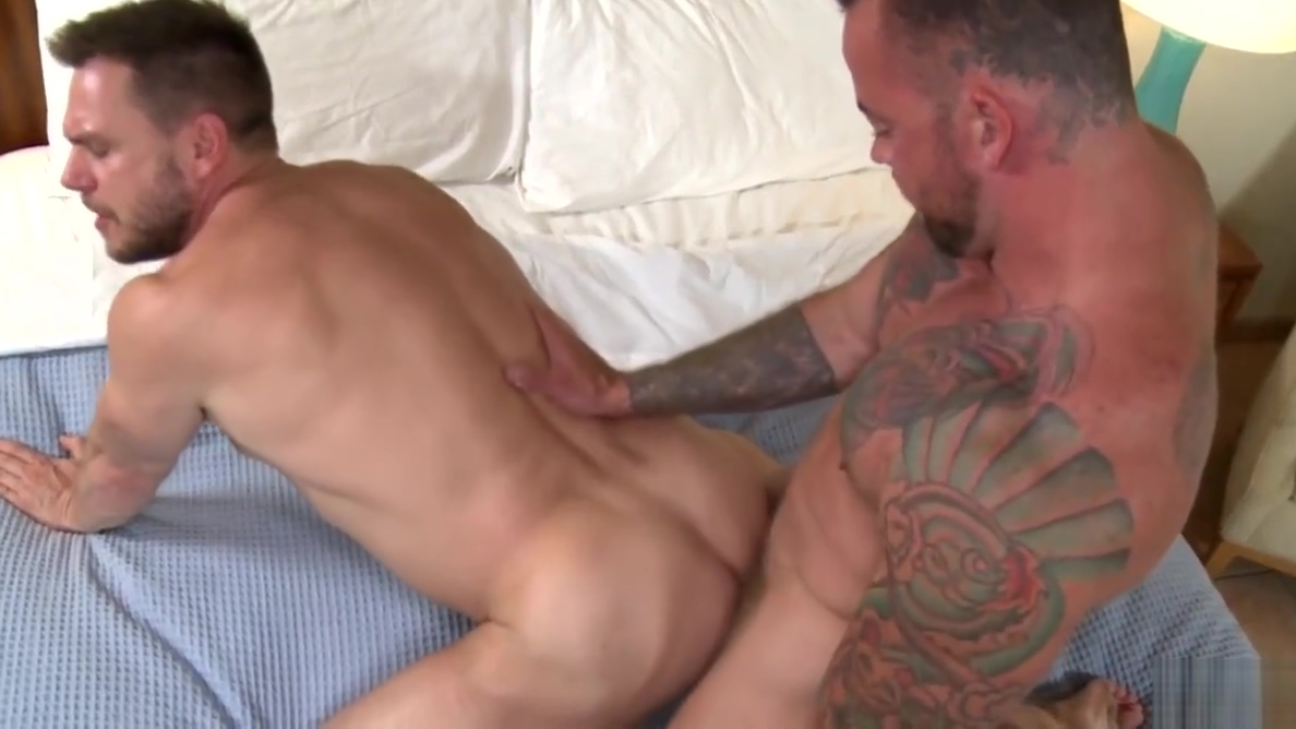 Sean Duran and Hans Berlin having bareback anal sex Show sex between male and female