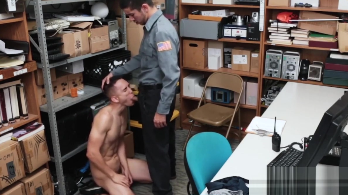 Muscular perp riding raw police dick after blowjob Romantic sex on a date